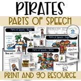 Parts of Speech Nouns Verbs Adjectives Pirate Themed