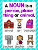 Parts of Speech {Nouns, Verbs and Adjectives}