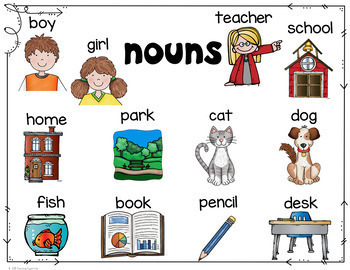 Nouns for Beginners Centers and Activities