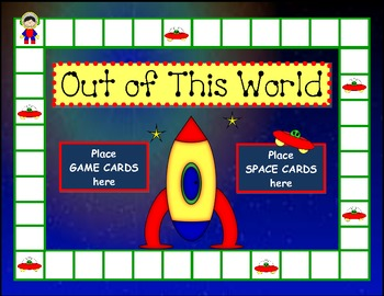 "Parts of Speech ""Out of This World""  game"