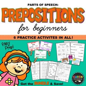 Parts of Speech - PREPOSITIONS