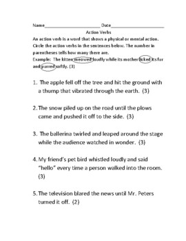 Parts of Speech Packet- Nouns, pronouns, verbs, adjectives, adverbs