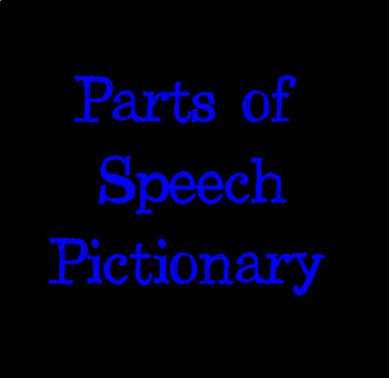 Parts of Speech Pictionary Game