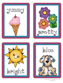 Parts Of Speech Picture Cards By A Teeny Tiny Teacher Tpt