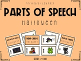 Parts of Speech Picture Cards: Halloween