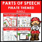 Parts of Speech Pirate Bundle Grammar Activities