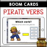 Parts of Speech Pirate Verbs BOOM LEARNING CARDS Distance