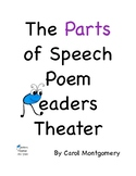Parts of Speech Poem–2 Readers Theater Versions - Comprehension