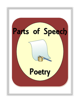 Parts of Speech Poetry
