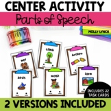 Parts of Speech Poke Cards