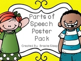 Parts of Speech Poster Pack