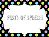 Parts of Speech Posters!