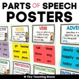 Parts of Speech Posters (editable version included)