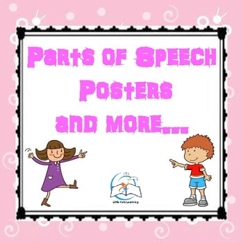 Parts of Speech: Posters and Printables