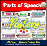 Parts of Speech Posters (Virtual Anchor Charts)