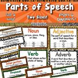Parts of Speech Posters  APT-001