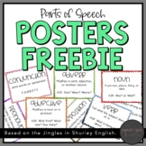 Parts of Speech Posters (Compatible with Shurley English)