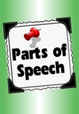Parts of Speech Posters:  Full colour
