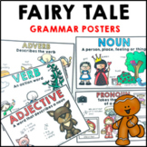 Parts of Speech Posters | Grammar Posters I Fairy Tales