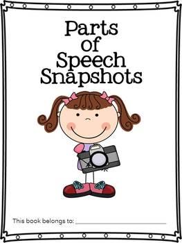 Grammar Poster Set (Parts of Speech Snapshots Book Template)