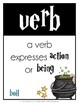 Parts of Speech Posters {Wizardry Theme}