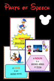 Parts of Speech Posters - Mickey and Friends