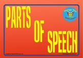 Parts of Speech Posters (Red)