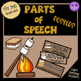 Parts of Speech Posters (S'MORES Themed)