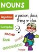 Parts of Speech Posters Superhero Kids Theme