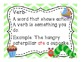 Parts of Speech Posters - The Hungry Caterpillar