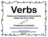 Grammar Parts of Speech Posters--Verbs