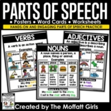 Parts of Speech Posters and Cards
