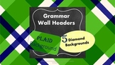 Parts of Speech Posters/Headers for Grammar Word Wall or Literacy Center