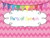 Parts of Speech PowerPoint and Sort