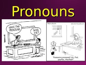 Parts of Speech PowerPoint Bundle