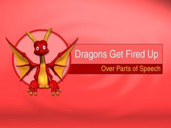 Parts of Speech Powerpoint : Dragon Theme