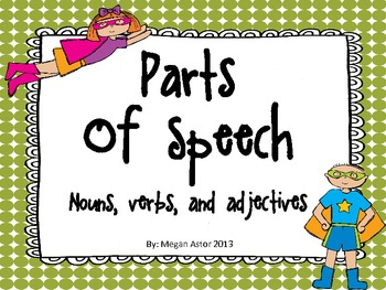 Parts of Speech- Primary
