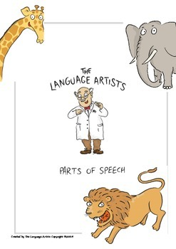 Parts of Speech Printable Posters and Worksheets