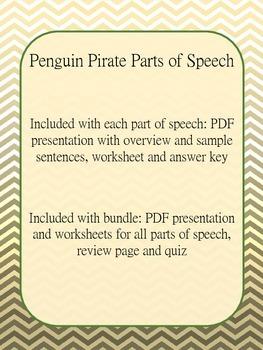 Parts of Speech: Pronouns - Penguin Pirate Lessons