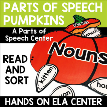 Parts of Speech Pumpkins Center