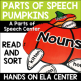 Parts of Speech Pumpkins Center