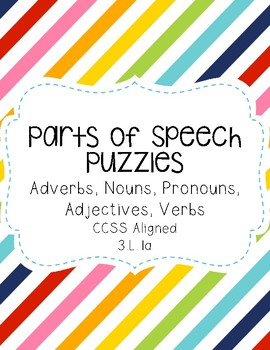 Parts of Speech Puzzle
