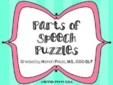 Parts of Speech Puzzles