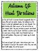 Parts of Speech QR Hunt