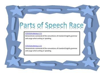 Parts of Speech Race