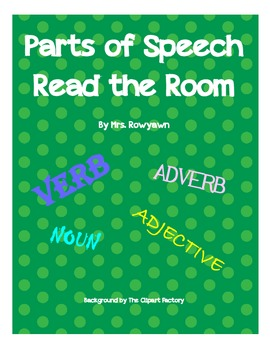 Parts of Speech Read the Room