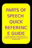 Parts of Speech Reference Guide
