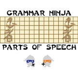Parts of Speech Review Review Game PowerPoint - Grammar Ninja