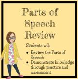 Parts of Speech Review Unit