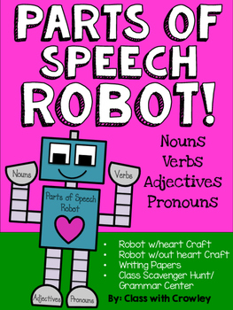 Parts of Speech Robot